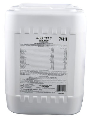 5 Gallon, Red Cell Iron Supplement