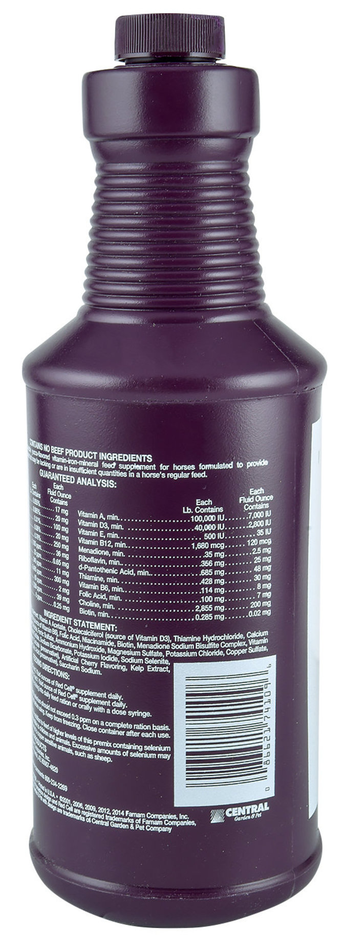 Red Cell 174 Horse Supplement For Energy And Stamina