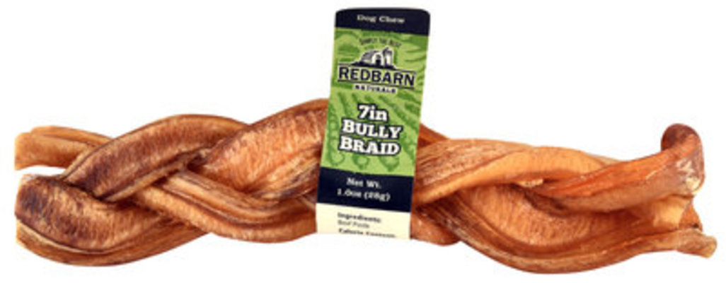 "Redbarn 7"" Braided Bully Sticks"