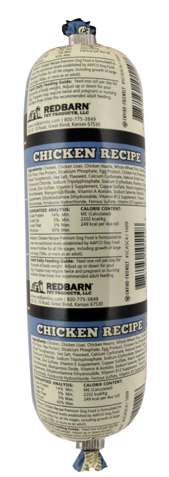 Redbarn naturals chicken recipe dog food roll jeffers pet redbarn naturals chicken recipe dog food roll image 2 forumfinder Gallery