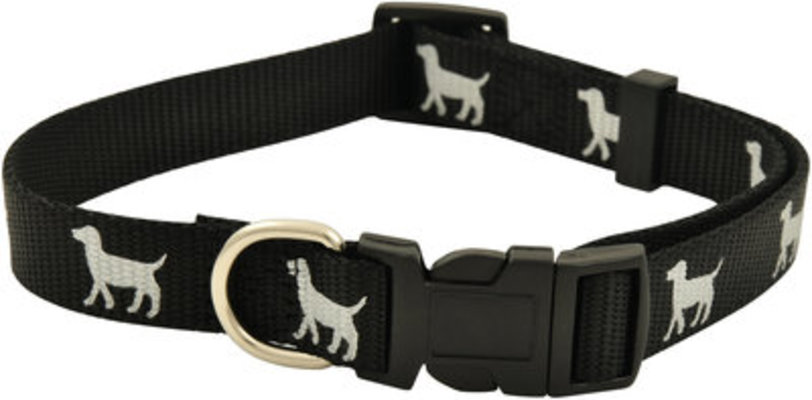 "Reflective Hound Series Collars, 5/8"" x 10-16"""