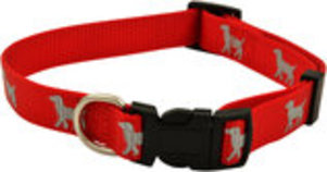 "Reflective Hound Series 3/4"" Collars, 14""-22"""