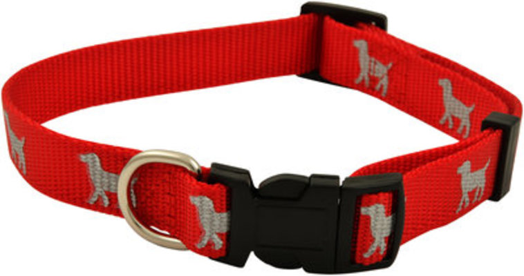 "Reflective Hound Series Collars, 1"" x 16-26"""