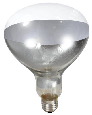 Clear Heat Lamb Bulb, 250 Watt