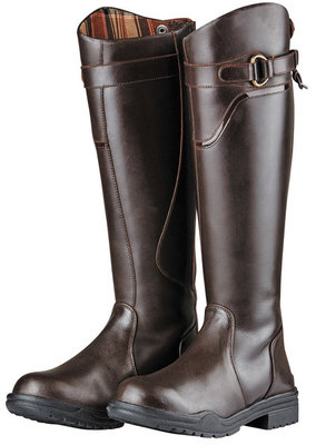 Regular Dark Brown Dublin Calton Boots