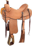Reinsman All Roughout Rancher Saddle, Regular Tree