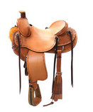Reinsman Rancher Horse Saddle, Wide Tree