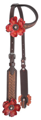 Reinsman Sarah Rose Vintage Sliding Ear Headstall