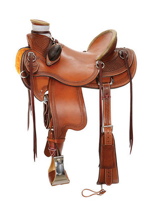 Reinsman Wade Ranch Saddle, Wide Tree