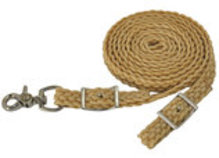 Reinsman Waxed Nylon Braided Roping Rein