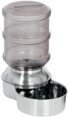 Replendish Stainless Steel Waterer, 1 Gallon