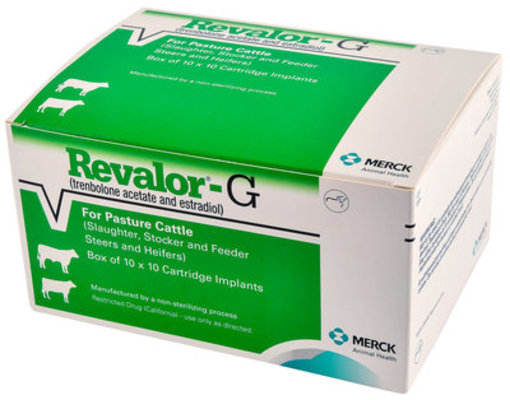 Revalor-G Implants, box of 10 - 100 Dose
