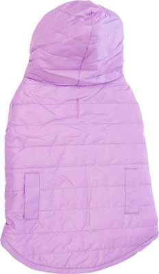 Reversible Puffy Coat, Lilac, Small