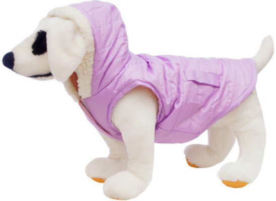 Reversible Puffy Coat, Lilac