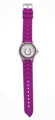 Rhinestone Horseshoe Watch