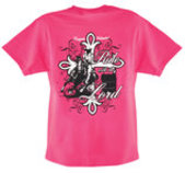 "Cowgirls Unlimited ""Ride with the Lord"" T-Shirt"
