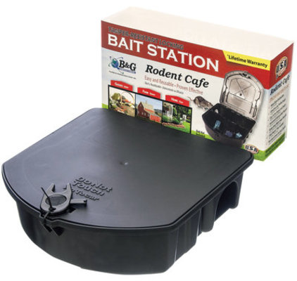 Rodent Cafe Locking Bait Station, each