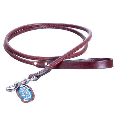 "5/8"" x 4' Chestnut, Briarwood Leash"