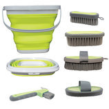 Silicone Grooming Bucket Kit
