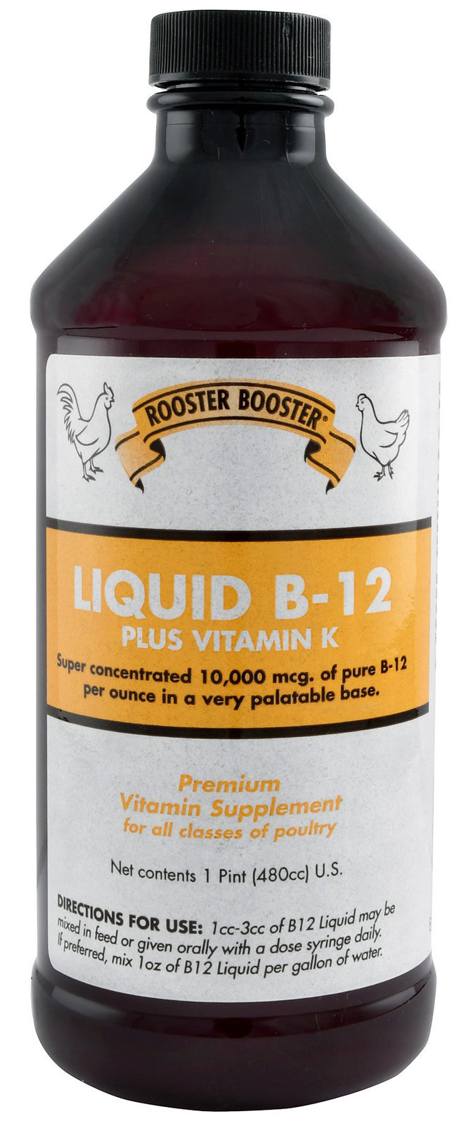 Rooster Booster Liquid B-12, 6 oz | Jeffers Pet