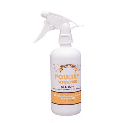 Rooster Booster Poultry Feather Whitener