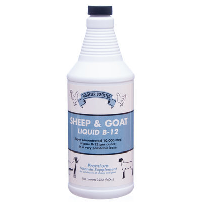 32 oz Rooster Booster Sheep and Goat B-12 Liquid