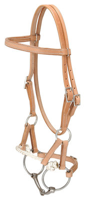 Royal King Half Breed Snaffle Side Pull