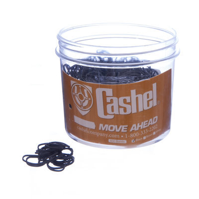 Cashel® Rubber Braiding Bands, 800 count