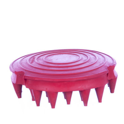 "Large Rubber Groomer (4"")"