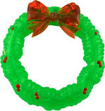 Rubber Light-Up Christmas Wreath