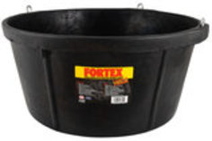 Rubber Feeder Tub, 6.5 gallon