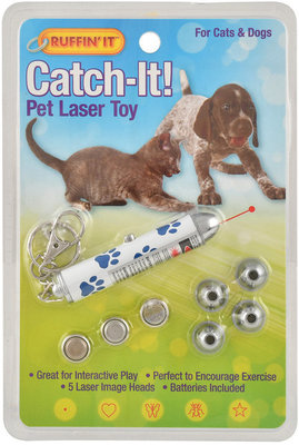 Ruffin' It Catch-It! 5-way Pet Laser Toy