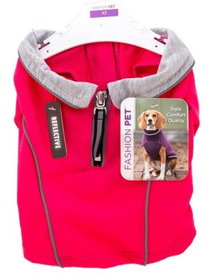 Pink Running Jacket for Dogs