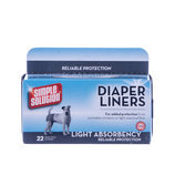 Simple Solution Diaper Liners (Light Absorbency - 22 pads)