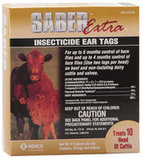 Saber Extra Ear Tags, pkg of 20
