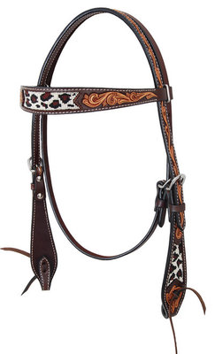 Safari Beaded Browband Headstall