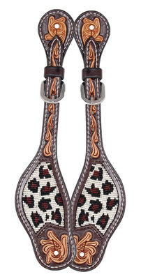 Safari Beaded Ladies Spur Straps