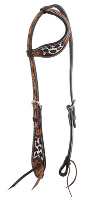 Safari Beaded Slip Ear Headstall