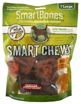 Large Safari SmartChews, 7 ct