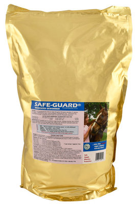 Safe-Guard Pelleted Horse Dewormer (0.5% fenbendazole), 10 lb