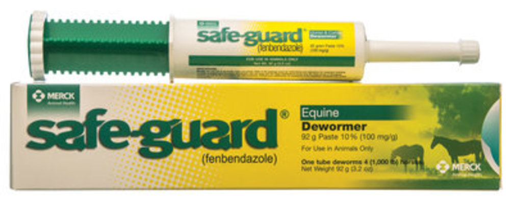 SafeGuard Horse Dewormer Paste, 3.2 oz (92 g)