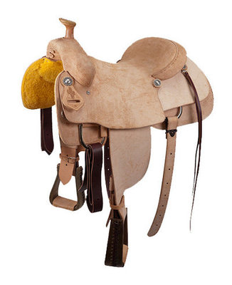 Saguaro Team Roper Roughout Saddle