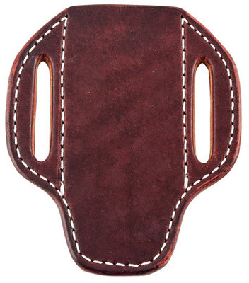 San Saba Leather Pancake Vertical Large Knife Sheath