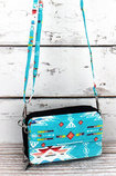 """Santa Fe Sunrise"" Crossbody Clutch"