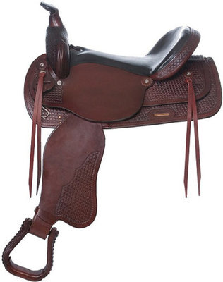 Santa Fe Trail Pleasure Saddle