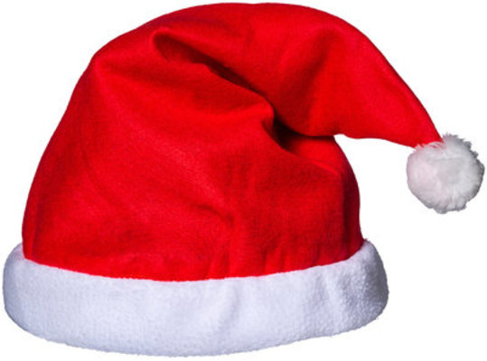 Santa Hat Helmet Cover