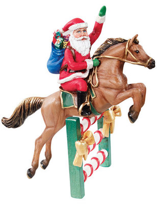 Breyer Santa's Flight Ornament
