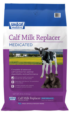 Sav-A-Caf Performance Calf Milk Replacer, 25 lb