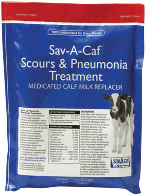 Sav-A-Caf Scours & Pneumonia Treatment