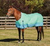 Saxon 1200D Standard Neck Sheet, Mint/Blue